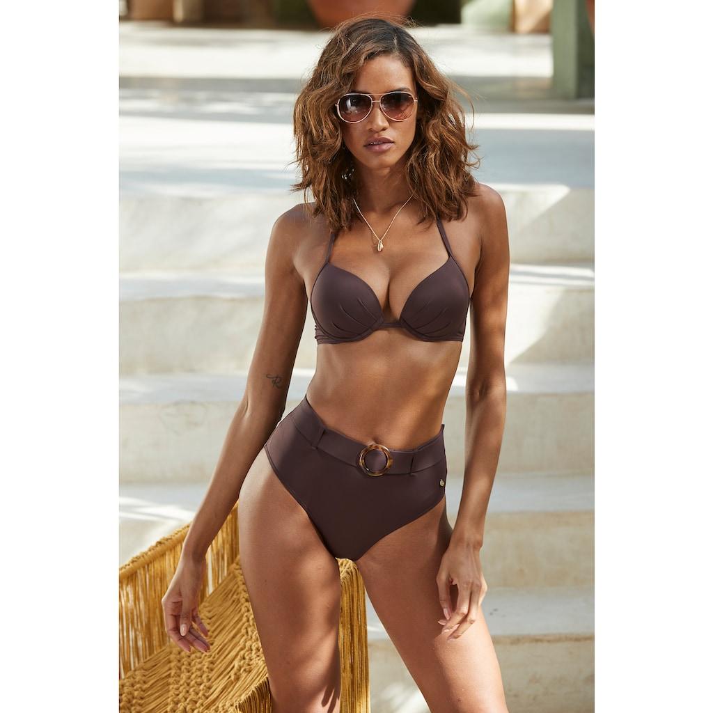 s.Oliver Push-Up-Bikini-Top »Rome«, in verschiedenen Unifarben