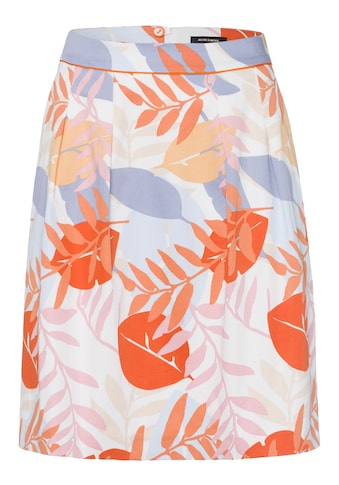 MORE&MORE Grafical Leaf Print Skirt Active kaufen