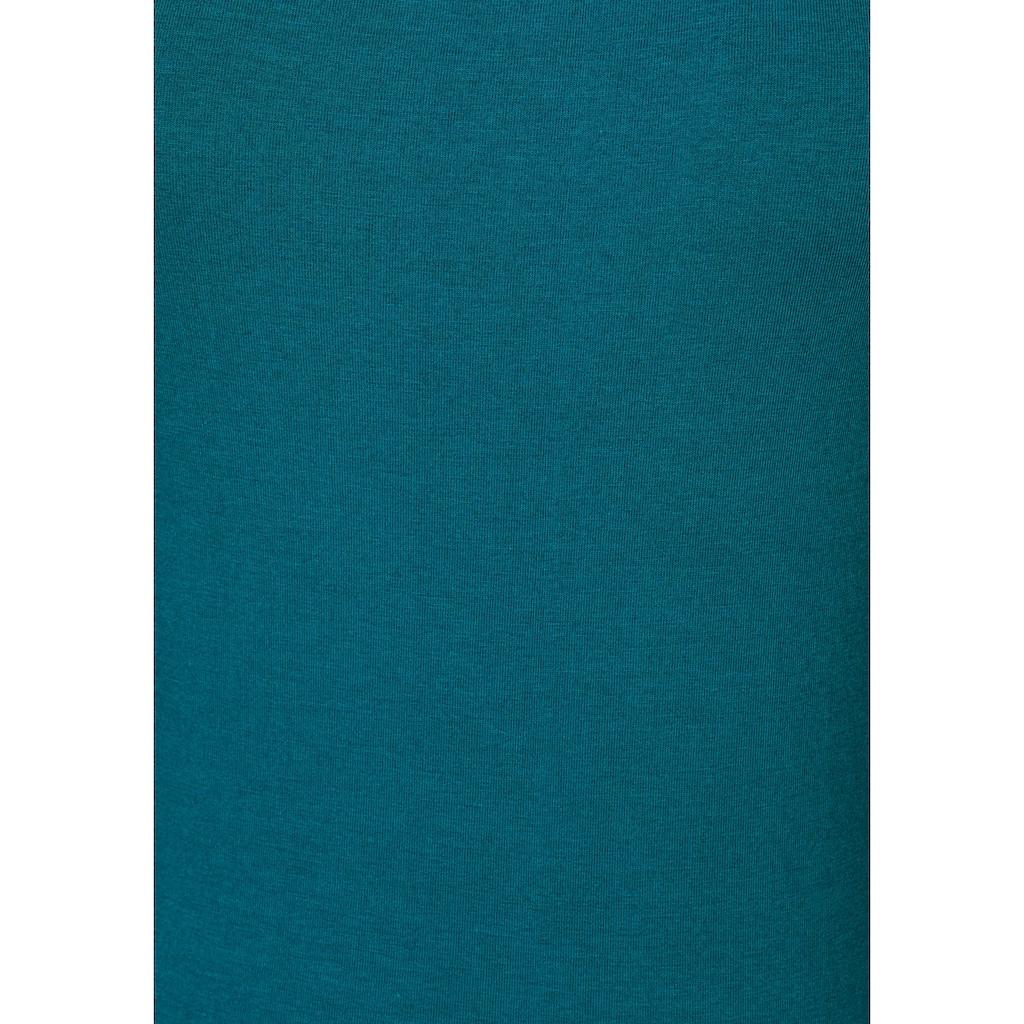Vivance Tanktop, (2er-Pack), aus elastischer Baumwoll-Qualität