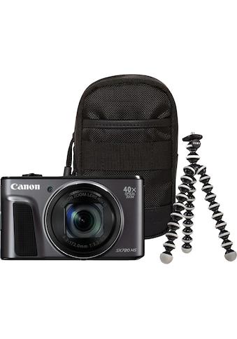 Canon Kompaktkamera »Power Shot SX720 HS«, WLAN (Wi-Fi)-NFC, Travel Case & Gorillapod... kaufen