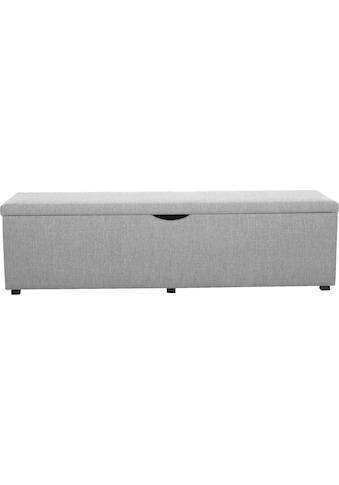 Places of Style Hockerbank »Standard«, mit Stauraum, Breite 120 cm oder 160 cm, auch als Garderobenbank oder Bettbank geeignet kaufen
