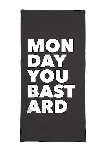"""Handtuch """"Monday"""", Juniqe kaufen"""