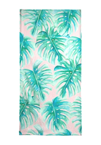 "Handtuch ""Paradise Palm Blush"", Juniqe kaufen"