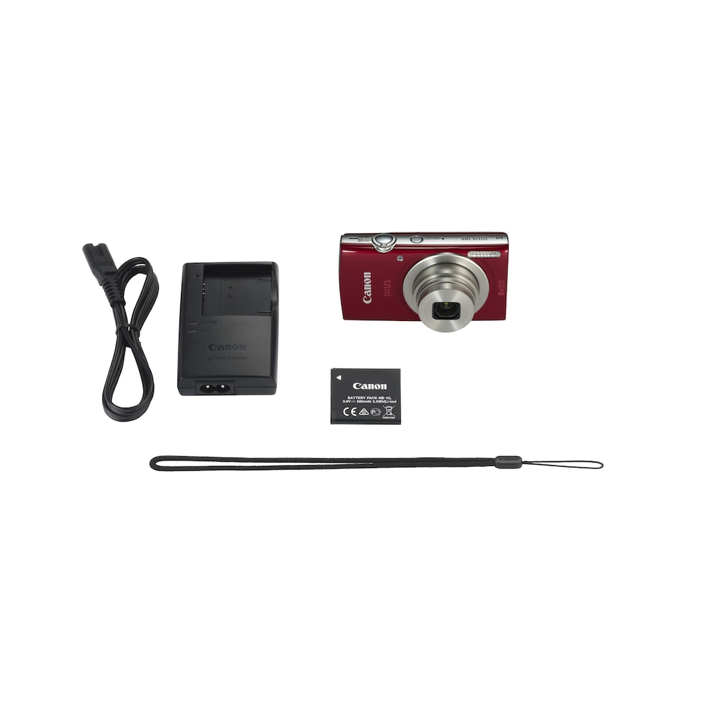 Canon Kompaktkamera »IXUS 185 Rot«
