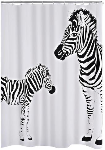 RIDDER Duschvorhang »Zebra«, ca. 180x200 cm kaufen