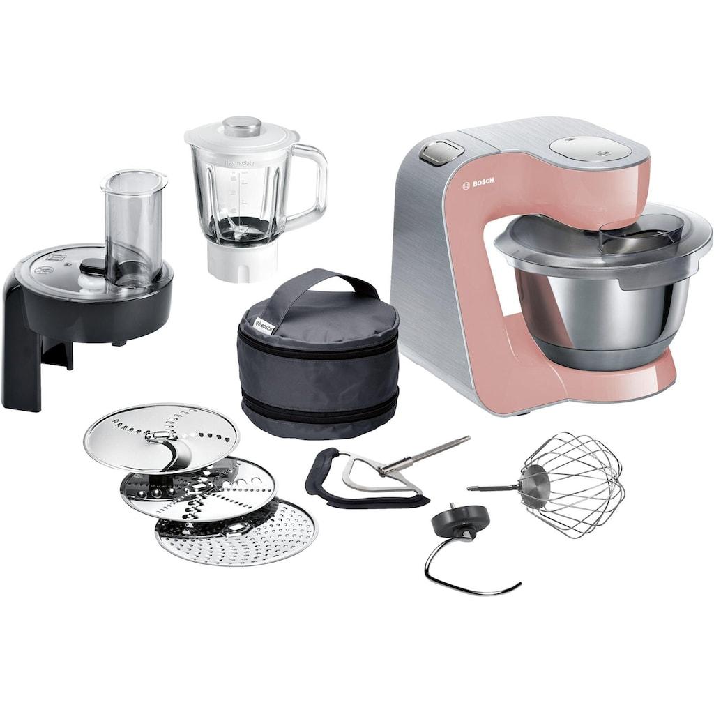 BOSCH Küchenmaschine »MUM5, 1000W, Edelstahl gebürstet«