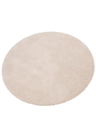 Hochflor - Teppich, »Magong«, my home, rund, Höhe 25 mm, handgetuftet kaufen