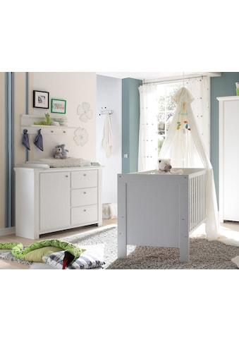 Babymöbel-Set »Dandy«, (Spar-Set, 2 tlg.), Bett + Wickelkommode kaufen