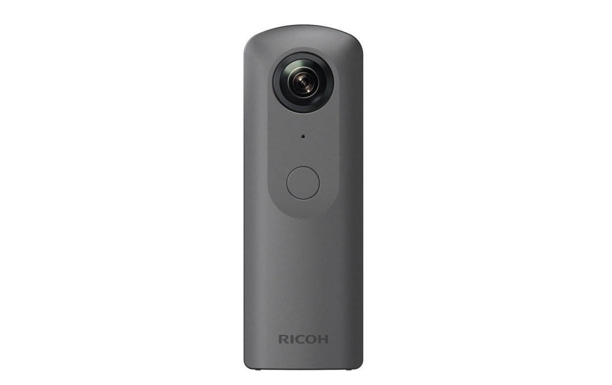 Image of 360 Videokamera, Ricoh, »Theta V Metallic Grau«