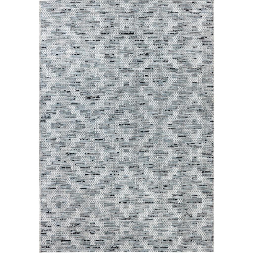 ELLE Decor Teppich »Creil«, rechteckig, 3 mm Höhe, In- und Outdoorgeeignet, Wohnzimmer