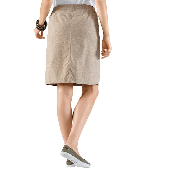 Casual Looks Rock mit eingearbeiteten Shorts