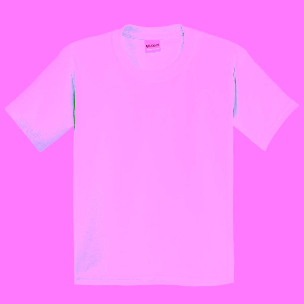 Gildan T-Shirt »Kinder mit Rundhalsausschnitt, kurzärmlig«
