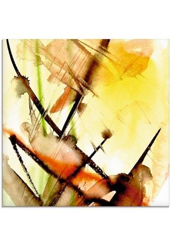 Artland Glasbild »Lichtklang«, Gegenstandslos, (1 St.) kaufen