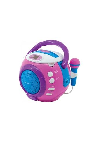 Soundmaster tragbarer CD-Player »KCD1600 Blau Pink« kaufen