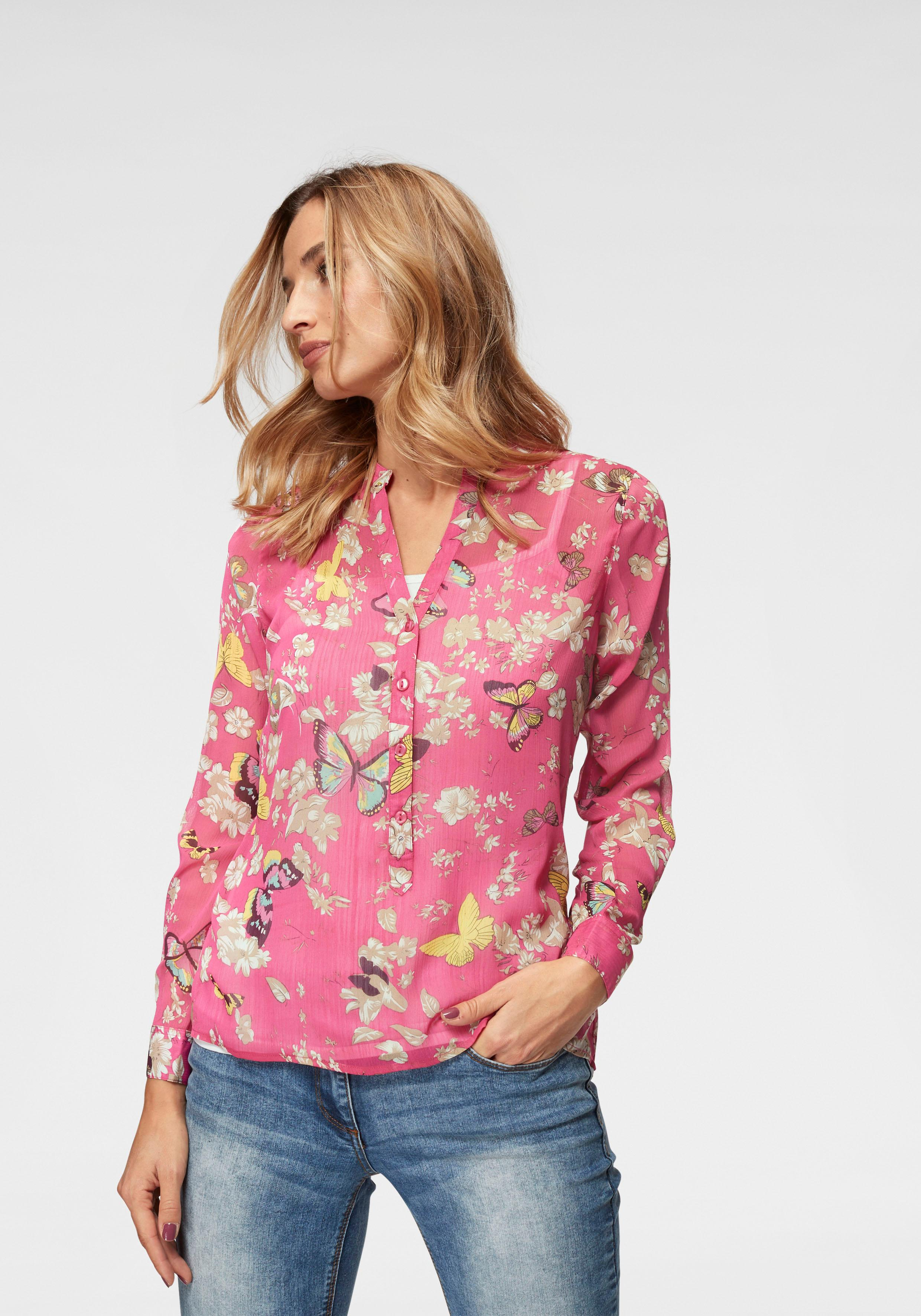 Image of Aniston CASUAL Chiffonbluse