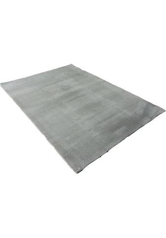 Leonique Teppich »Balu«, rechteckig, 20 mm Höhe, Kaninchenfell Haptik, Wohnzimmer kaufen