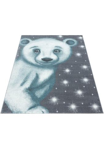 Ayyildiz Kinderteppich »Bambi 810«, rechteckig, 11 mm Höhe, Eisbär Motiv, Kurzflor kaufen