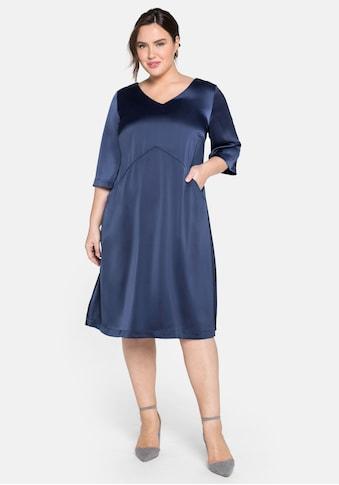 Sheego Cocktailkleid, in weiter A-Linie kaufen