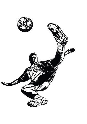 Wall-Art Wandtattoo »Fussball Kicker 02« kaufen