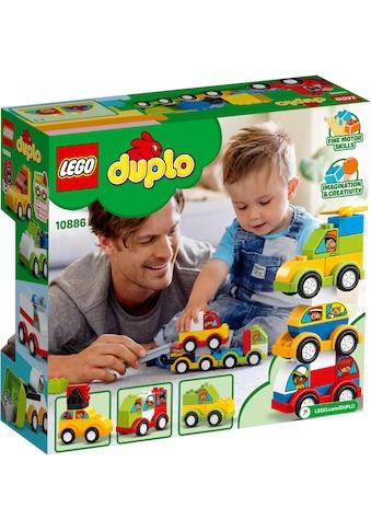 """LEGO® Konstruktionsspielsteine """"Meine ersten Fahrzeuge (10886), LEGO® DUPLO™"""", Kunststoff, (34 - tlg.) kaufen"""