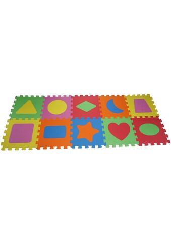 Knorrtoys® Puzzle »Geo Formen«, (10 tlg.), Puzzlematte, Bodenpuzzle kaufen