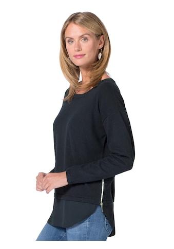 Ambria Pullover mit frechem Reissverschluss seitlich kaufen