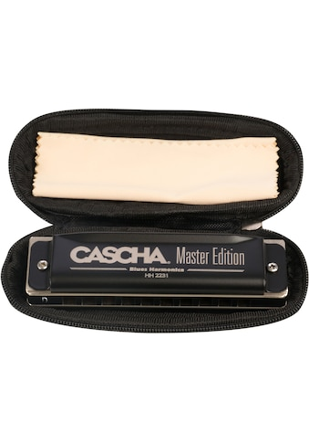 Cascha Mundharmonika »Master Edition Blues in D-Dur«, inkl. Soft Case und Pflegetuch kaufen