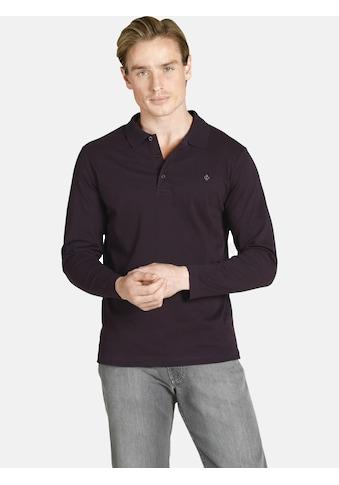 Charles Colby Langarm-Poloshirt »DUKE LENN«, aus elastischem Baumwoll-Mix kaufen