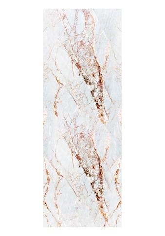 QUEENCE Vinyltapete »Marmor - Weiss«, 90 x 250 cm, selbstklebend kaufen