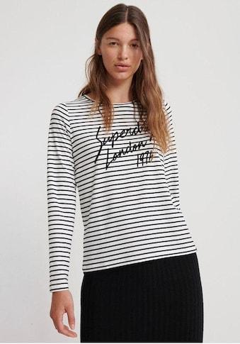 Superdry Rundhalsshirt »ADELINA GRAPHIC TOP« kaufen