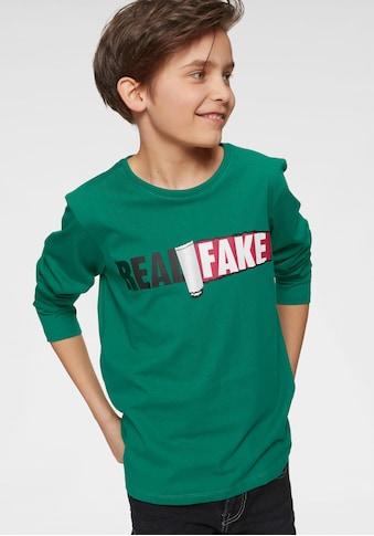 Arizona Langarmshirt »Real fake« acheter