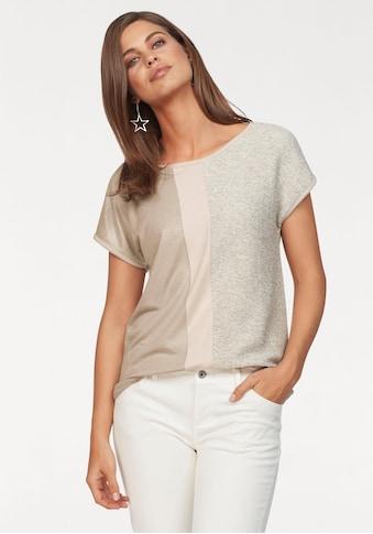 Laura Scott T-Shirt, mit Glanzeffekten kaufen