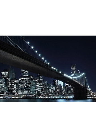 Fototapete »New York by night«, Home affaire (8 - tlg.) kaufen