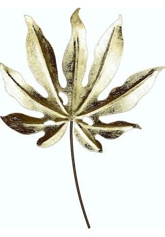 I.GE.A. Wanddekoobjekt »Metall-Blatt«, zum Hängen kaufen