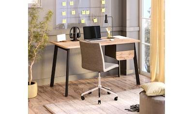 """Schreibtisch »Tes«, Schreibtisch """"Tes"""" mit 2 Schubladen, wahlweise links/rechts... kaufen"""