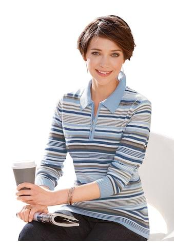 Casual Looks Pullover mit Polokragen kaufen