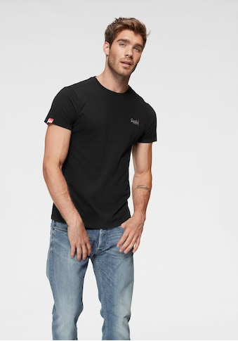 Superdry T - Shirt »ORANGE LABEL VINTAGE EMB TEE« kaufen
