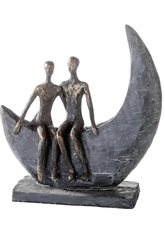 Casablanca by Gilde Dekofigur »Skulptur Moon«, Dekoobjekt, Höhe 24 cm, Pärchen, mit... kaufen