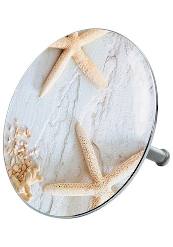 Sanilo Badewannenstöpsel »Seesterne Grau«, Ø 7,2 cm kaufen