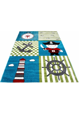 Kinderteppich, »Kids 450«, Ayyildiz, rechteckig, Höhe 12 mm, maschinell gewebt kaufen
