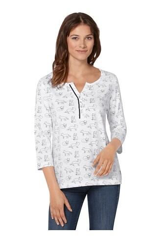 Ambria Shirt in strukturierter Flammgarn - Qualität kaufen