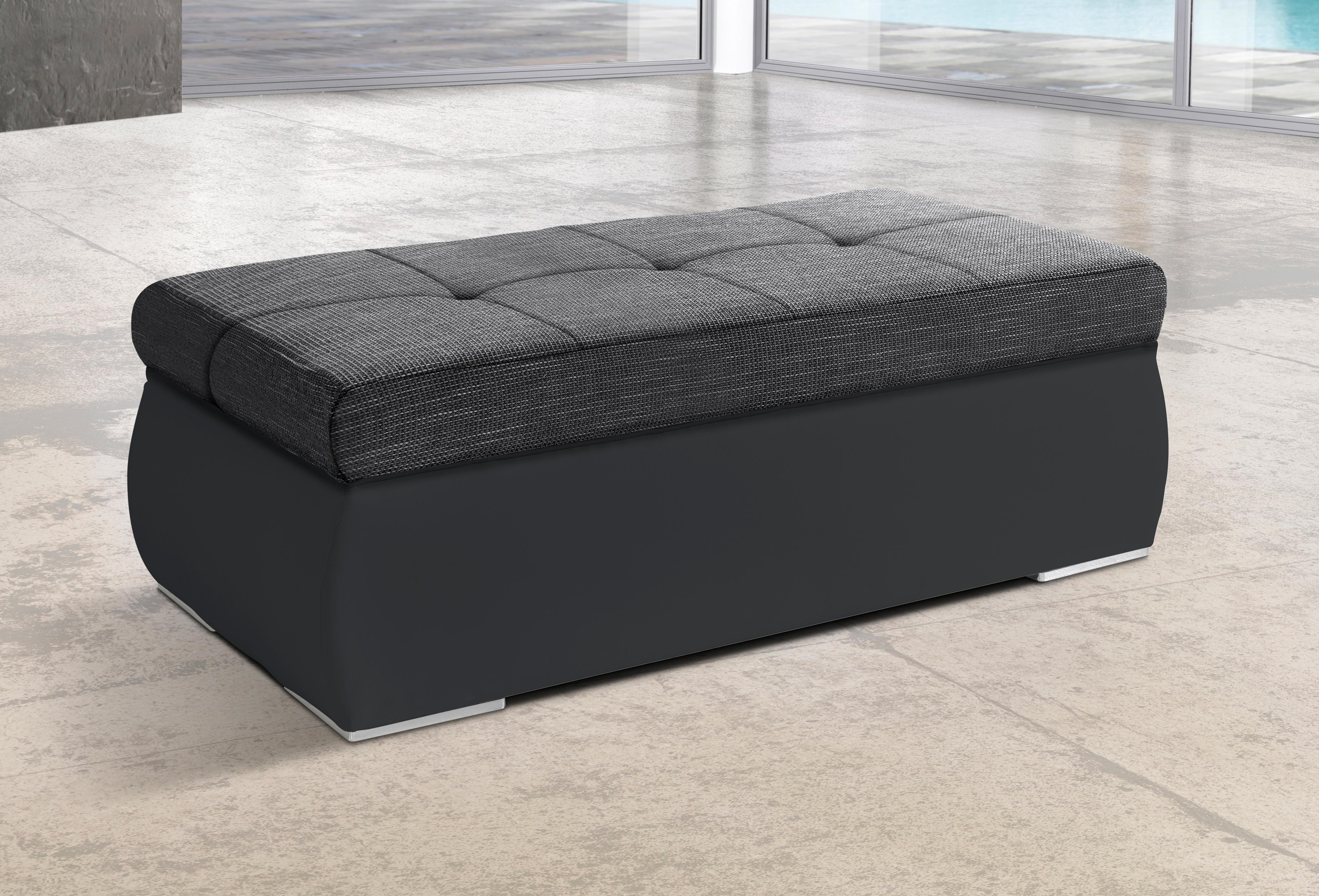 sit&more Hocker   Wohnzimmer > Hocker & Poufs > Sitzhocker   Microfaser - Polyester   SIT&MORE
