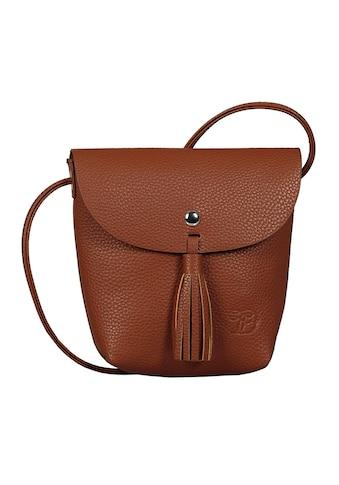 TOM TAILOR Denim Mini Bag »Ida«, mit Fransenapplikation kaufen
