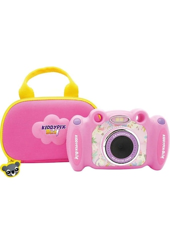 Easypix Kinderkamera »Kiddypix Blizz Pink«, vordere Linse für Fotos und Videos,... kaufen