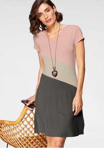 Boysen's Jerseykleid, im color blocking kaufen