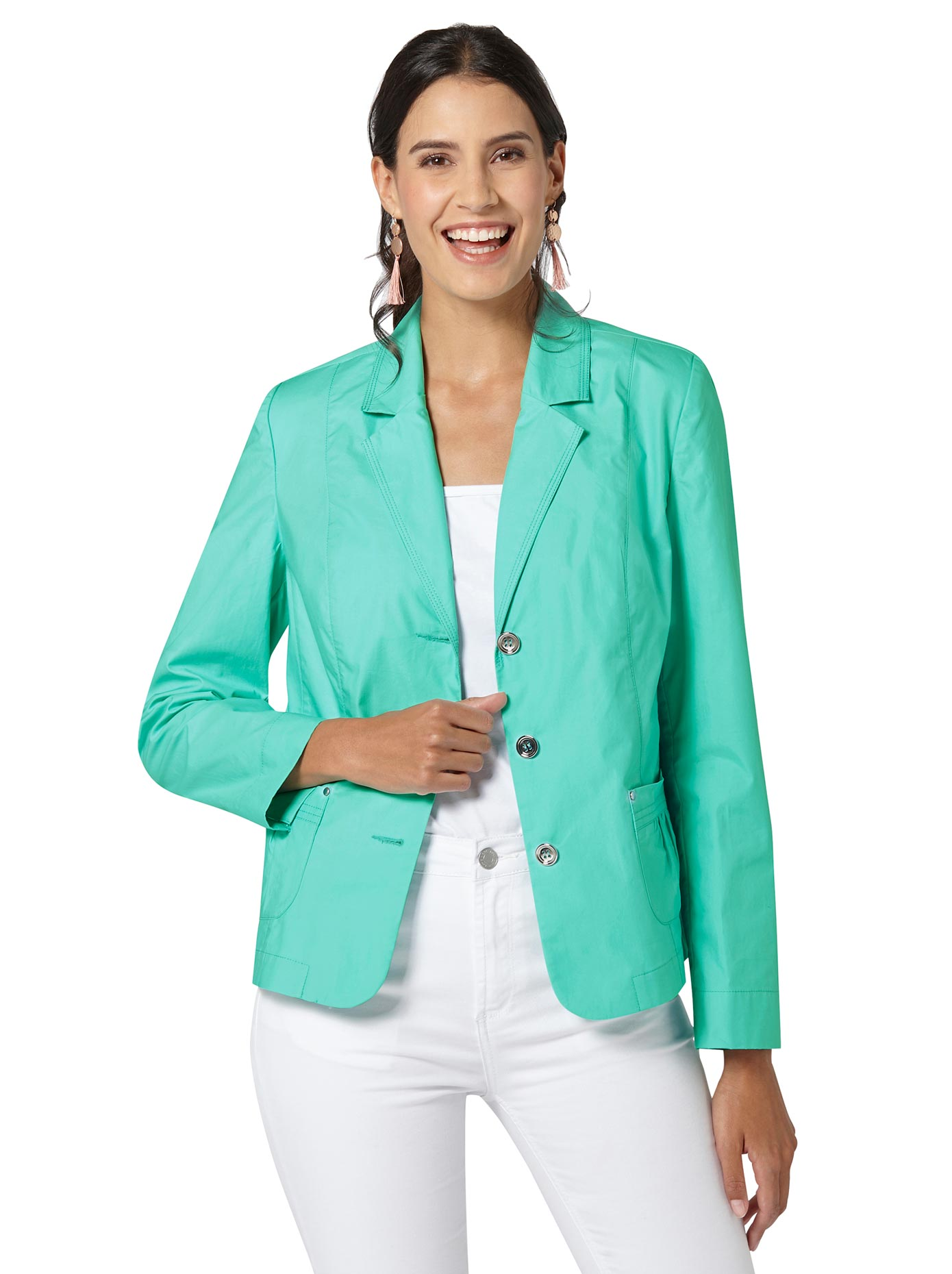 Image of Blusenblazer in frischer Farbgebung