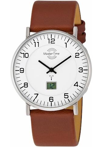 MASTER TIME Funkuhr »MTGS-10561-12L«, mit Langzeitbatterie kaufen