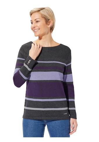 Casual Looks Pullover im kombistarken Ringeldessin kaufen