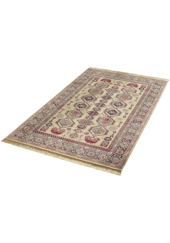 MINT RUGS Teppich »Gala«, rechteckig, 9 mm Höhe, Orient Optik, weiche Viskose mit Fransen, Wohnzimmer kaufen