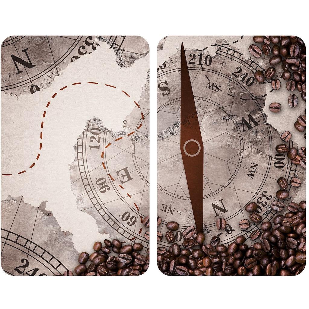 WENKO Herd-Abdeckplatte »Universal Kompass«